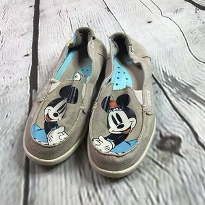 CROCS Disney Minnie Mouse Khaki Canvas Women's
